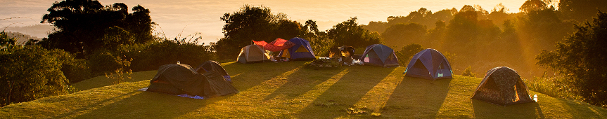 Banner Camping