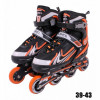 Roller Regulável do 39 Ao 43 In-line Aluminum 500 Abec 9 Alaranjado