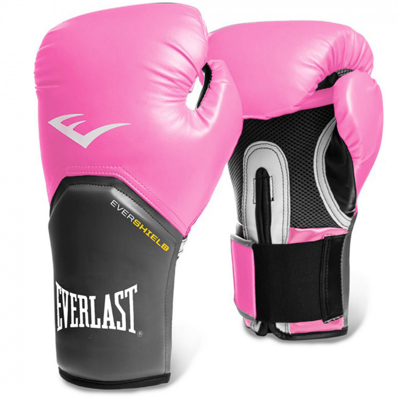 Luva Boxe Everlast pro Style Elite Training 8 Oz Rosa com Cinza ... caddf9e527dd4